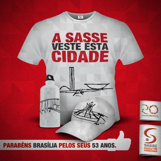 Post do aniversário de Brasília