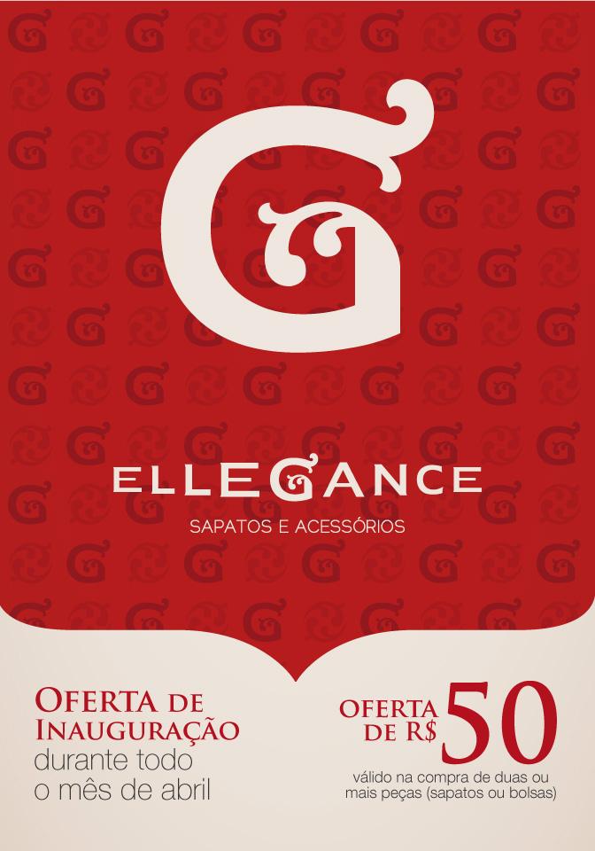 Panfleto promocional Ellegance