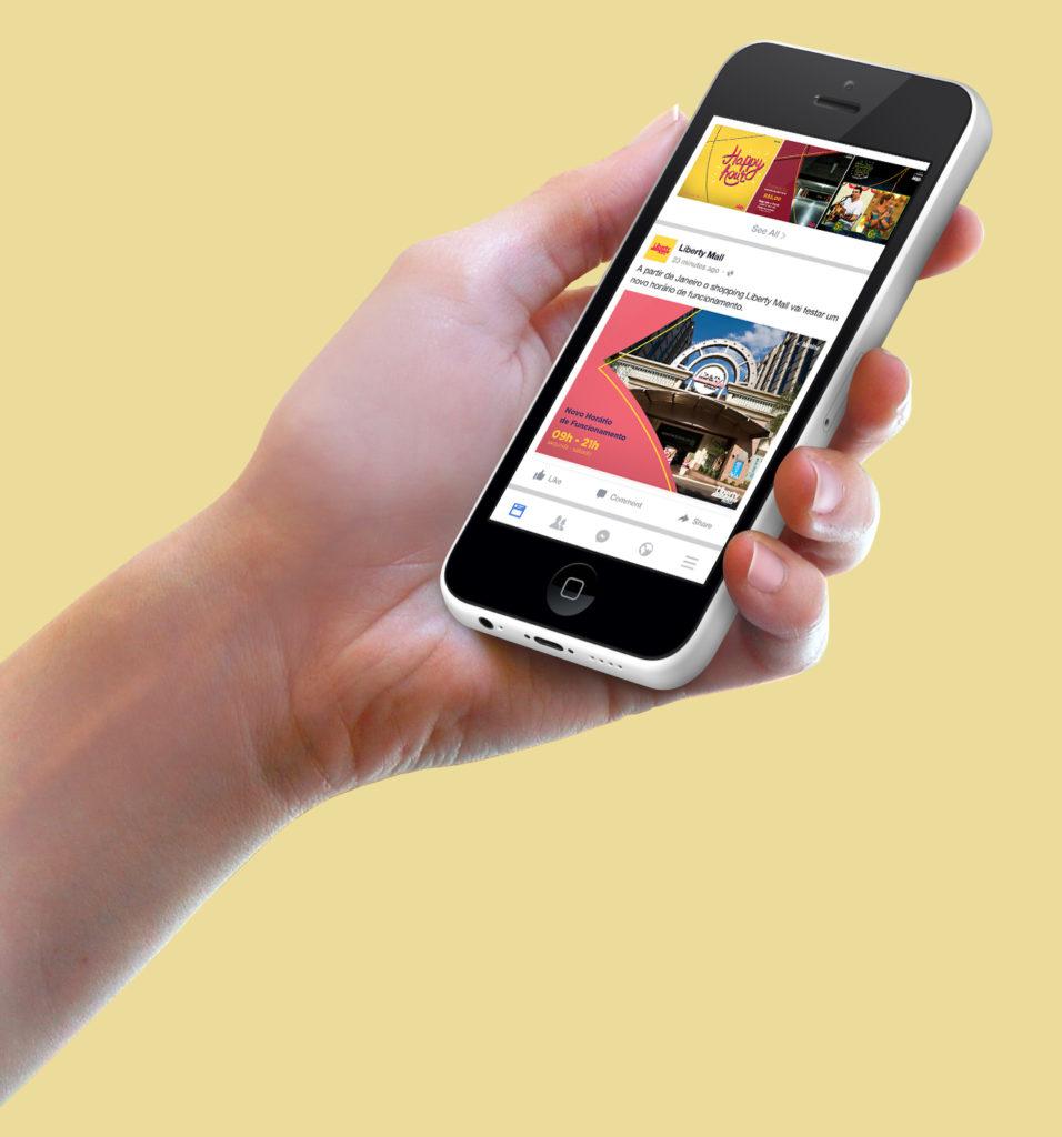 mockup-iphone-facebook-fundo-amarelo
